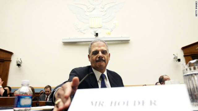 "U.S. Attorney General Eric Holder has faced congressional questioning on the ""Fast and Furious"" program."