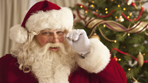 Other kids can spoil the whimsy of Santa Claus for your child.