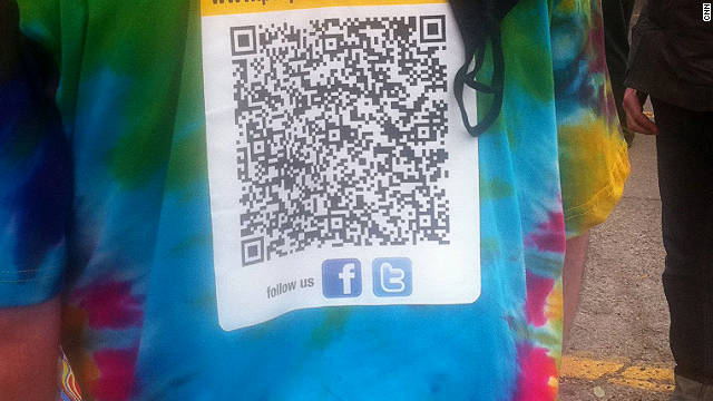 QR codes eliminate the need for typing a URL on your phone, but you need to have a barcode scanner app installed.