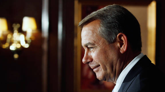 """House Speaker John Boehner said the package is """"a win for the American people and worthy of the president's signature."""""""