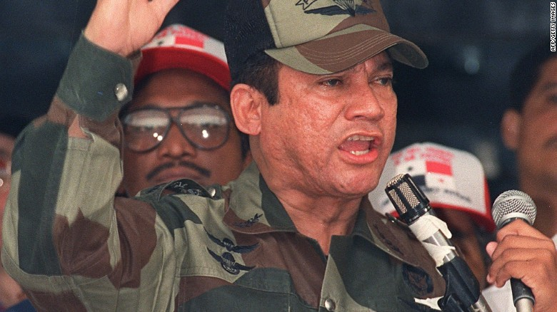 Manuel Noriega, former dictato...