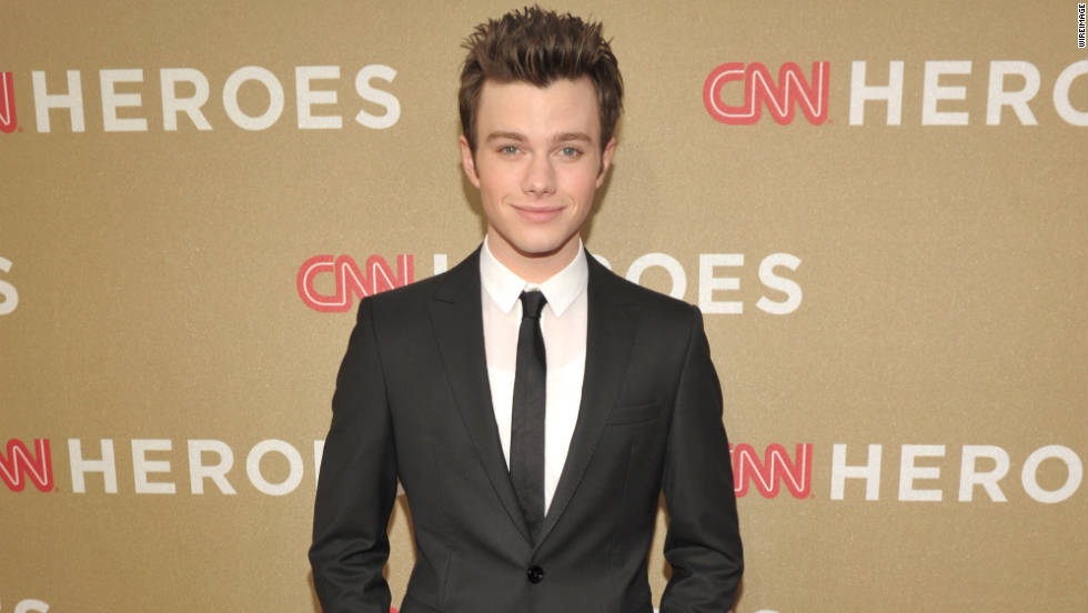 Actor Chris Colfer.