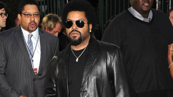 Rapper Ice Cube.