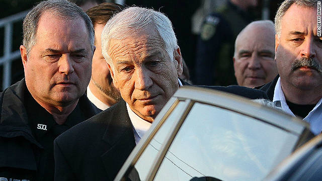 Jerry Sandusky, the former Penn State assistant football coach accused of sexually abusing  boys, is asking the judge to grant visitation with his grandchildren.