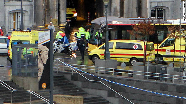 5 dead, many injured in Belgium attack