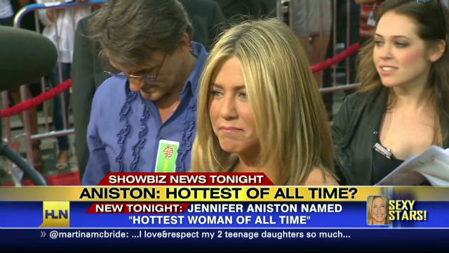 2011:  Aniston: Hottest of all time?