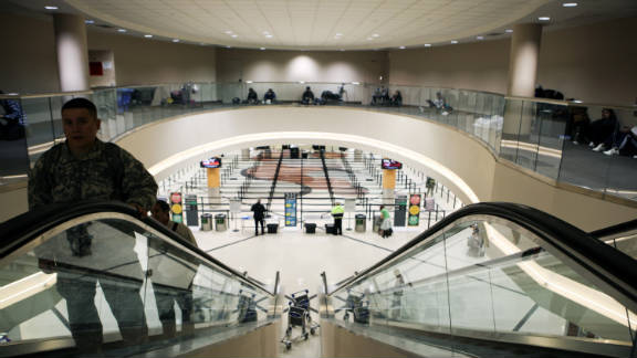 A police officer accidentally fired a gun found in a passenger's bag Sunday at Atlanta Hartsfield-Jackson International Airport.