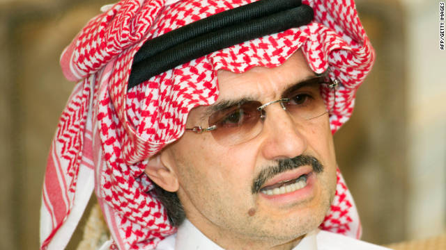 Saudi Prince Alwaleed Bin Talal says he hasn't been to Ibiza in over a decade and others are trying to impersonate him.
