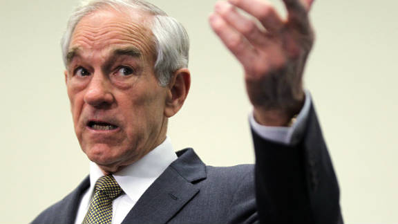 Republican presidential candidate US Rep. Ron Paul (R-TX) addresses the Congressional Health Care Caucus.