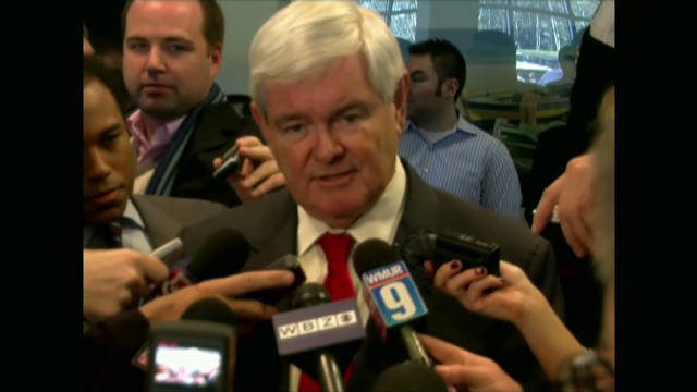 Gingrich maintains positive promise