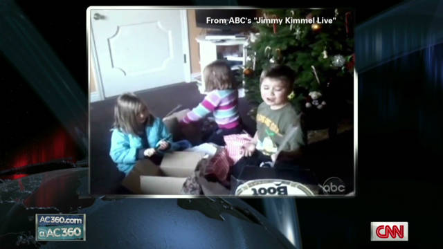 Jimmy kimmel bad xmas gifts for parents