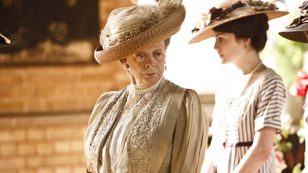 """Downton Abbey,"" ""Cinema Verite,"" ""The Hour,"" ""Mildred Pierce,"" ""Too Big to Fail"""