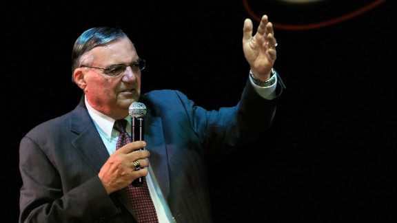 The Justice Department says Maricopa County Sheriff Joe Arpaio