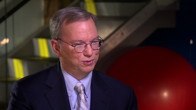 Google's Eric Schmidt: exclusive preview