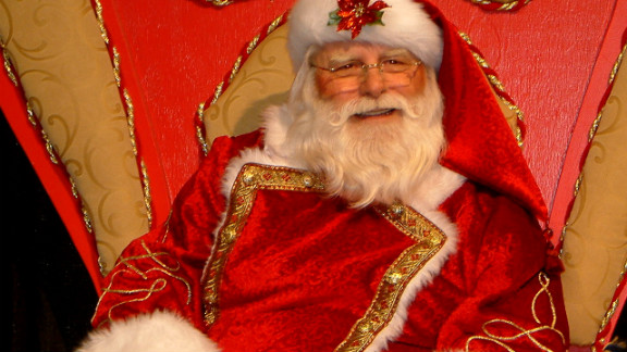 A co-worker who was seeking a Santa for his family's holiday party somehow roped in Louis Knezevich. He nervously stepped up more than nine years ago and has been hooked ever since.