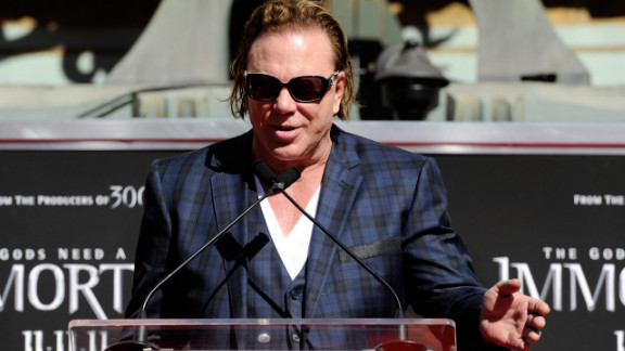 """Mickey Rourke has never been shy about speaking his mind, and he certainly wasn't when talking about his role in """"Iron Man 2."""" Four days before the movie's release in 2010 he said, """"I have no idea what's in the movie or what it's about."""" Then in an interview last month, Rourke said, """"Unfortunately, the [people] at Marvel just wanted a one-dimensional bad guy, so most of the performance ended up the floor."""""""