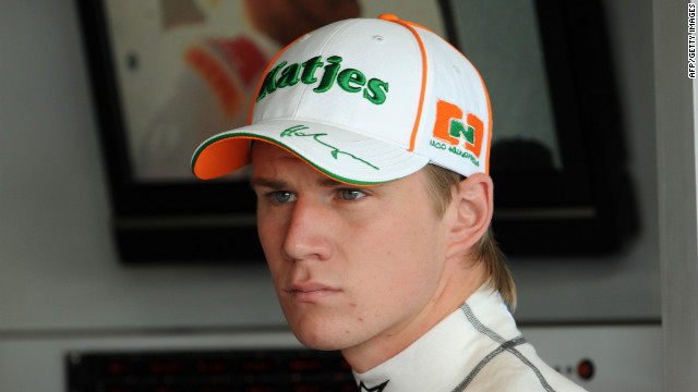 German driver Nico Hulkenberg will step up from his reserve role at Force India next year.