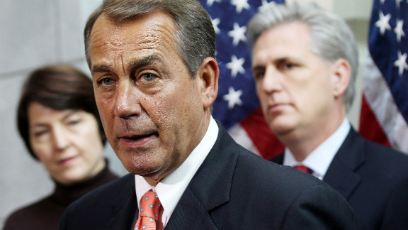 House Speaker John Boehner apparently reversed his position on the extension after caucus opposition, a GOP source says.