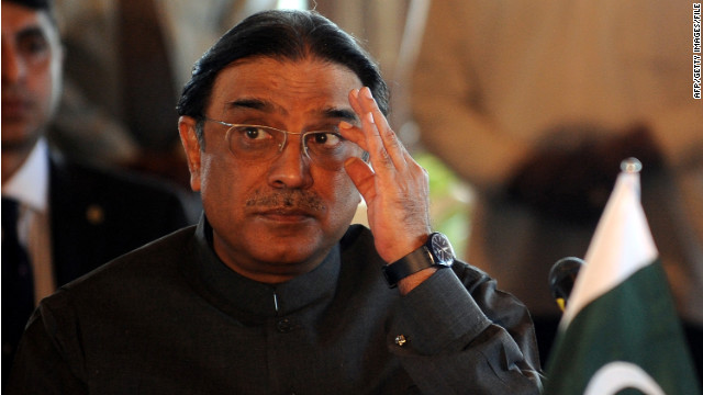 Zardari steps down as Pakistan's president