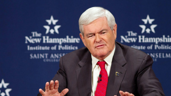 Former House Speaker Newt Gingrich's immigration policy has come under attack from some rival GOP candidates.