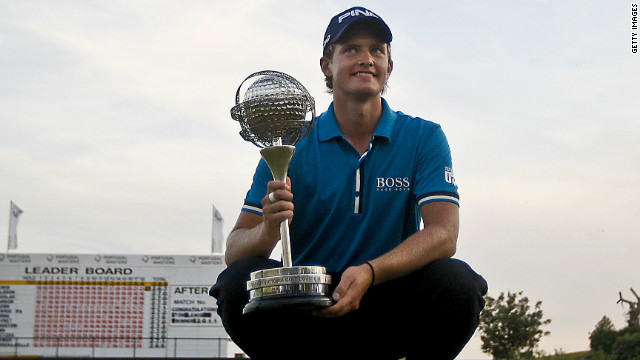 Young Englishman Tom Lewis won his first professional title at October's Portugal Masters.