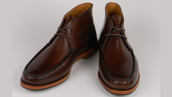 """Rancourt & Co. Shoecrafters has been producing shoes in twin cities Lewiston and Auburn in Maine since 1964. Rancourt describes its shoes not only as comfortable, but """"uniquely American."""""""