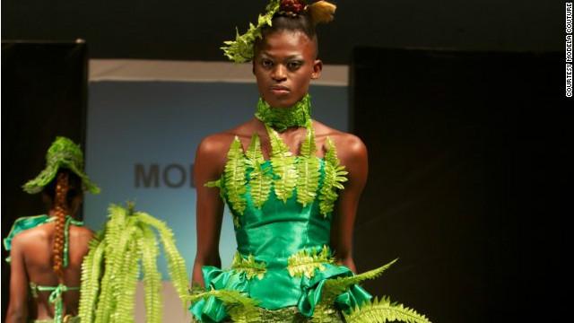 a6453814 Green is this season's color at Nigeria Fashion Week - CNN