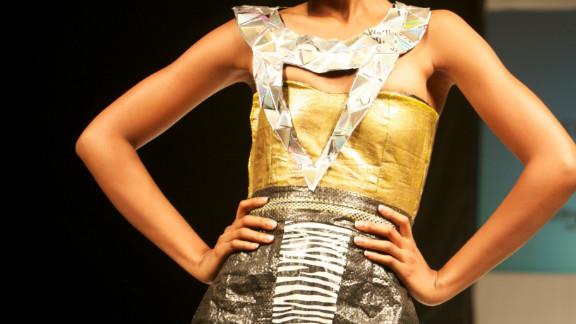 Designer Boma Inko-Tariah, from fashion house Beldie