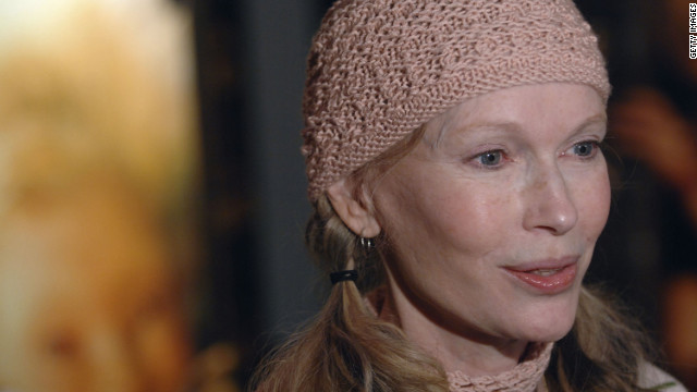 Mia Farrow attends the premiere of Arthur and The Invisibles at the DGA Theater January 7, 2007 in New York City.