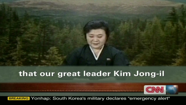 Tearful reaction to Kim's death
