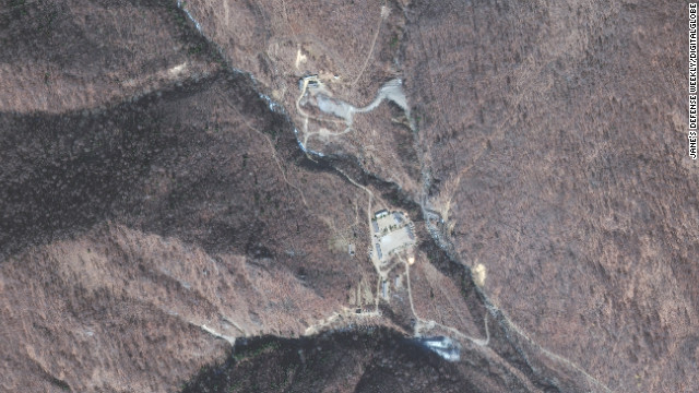 Satellite images obtained by a nuclear security think tank in 2010 show a uranium enrichment facility in North Korea.