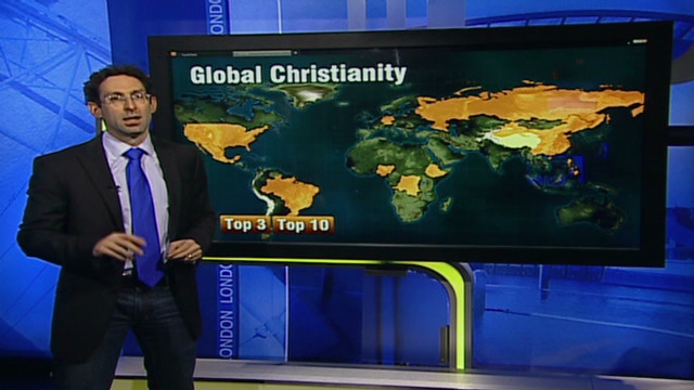 Christianity is world's largest religion