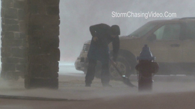 Blizzard hits the West and Midwest