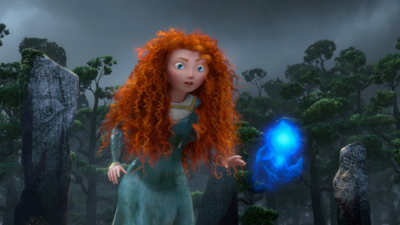 """Disney/Pixar's summer animated feature """"Brave"""" was on trend with a strong heroine at the center of its story in addition to featuring oh-so-hot archery. The movie <a href=""""http://www.cnn.com/2012/06/22/showbiz/movies/brave-review-charity/index.html?iref=allsearch"""" target=""""_blank"""">was praised for its independent protagonist</a>, and <a href=""""http://marquee.blogs.cnn.com/2012/12/13/nominees-announced-for-70th-annual-golden-globes/?iref=allsearch"""" target=""""_blank"""">has been nominated for a Golden Globe award</a> in the best animated feature category."""