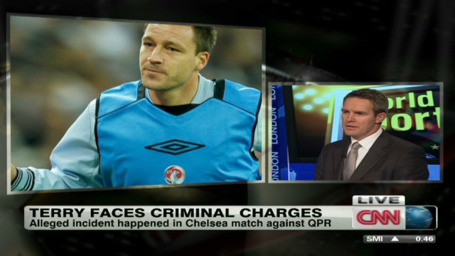 Footballer John Terry accused of racism