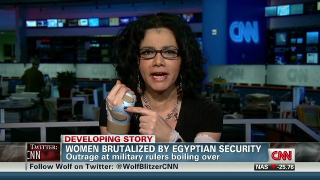 Woman recounts violent attack in Egypt