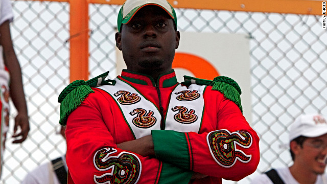 Florida A&M University student and band member Robert Champion, 26, died November 19, 2011.