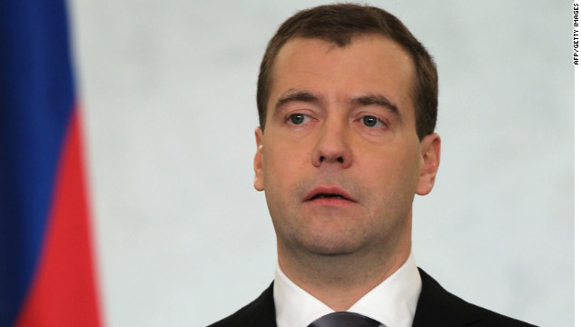 Russia's President Dmitry Medvedev makes his annual state of the nation address in the Kremlin on December 22.