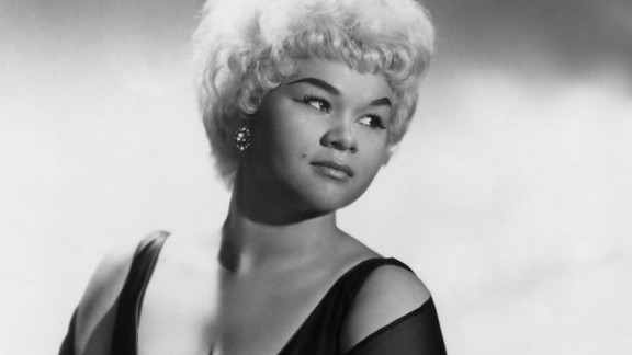 "Etta James, whose assertive, earthy voice lit up such hits as ""The Wallflower,"" ""Something"