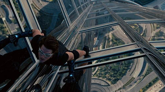 """Mission: Impossible - Ghost Protocol"" surpassed the final gross of ""Mission: Impossible III."""