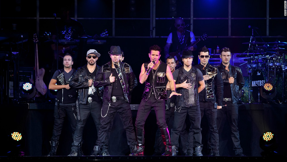 Nineties groups New Kids on the Block and the Backstreet Boys, now known as the recently formed NKOTBSB, earned $40 million with this year's tour.