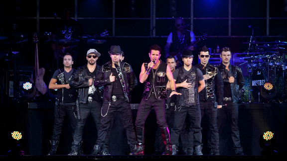 Nineties groups New Kids on the Block and the Backstreet Boys, now known as the recently formed NKOTBSB, earned $40 million with this year