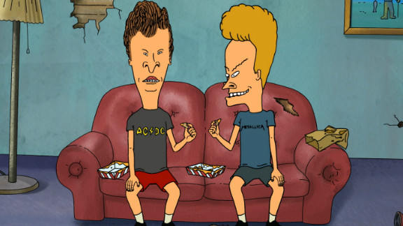 """""""Beavis and Butt-Head,"""" which originally ran on MTV from 1993 - 1997, returned to TV this year."""