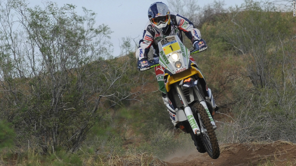 Marc Coma is no stranger to success in the Dakar. The Spaniard's 2011 motorbike victory, riding for KTM, was his third in the rally, adding to triumphs in 2006 and 2009.