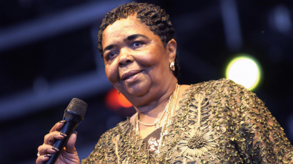 """Cesaria Evora, a talented singer who performed popular African islands music, died December 17. The Grammy-award winning artist was also known as the """"Barefoot Diva"""" because she would often complete performances without wearing shoes. She was 70."""
