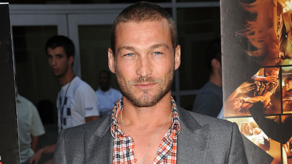 Andy Whitfield, 39, rose to fame playing the muscular gladiator in Starz