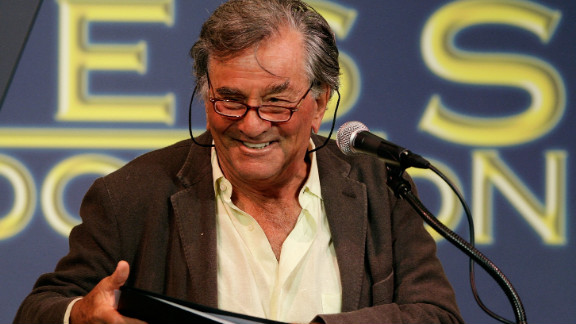 """Peter Falk, who played TV detective Lt. Columbo, died June 23. He was 83. The renowned actor earned two Oscar nominations and starred in many movies and plays such as """"The In-Laws"""" and """"The Princess Bride."""" Full story"""