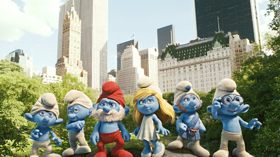 "Popular '80s show ""The Smurfs"" was adapted into a summer blockbuster this year."