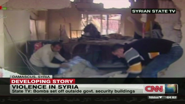 Suicide bombs explode in Damascus,