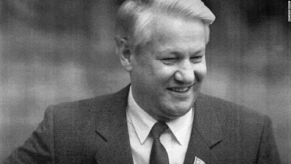 1990: As anti-Moscow unrest gathers in Soviet states, Boris Yeltsin is elected parliamentary president. He later quits the Communist Party. Gorbachev, meanwhile, faces resistance.